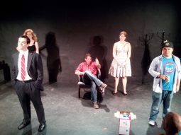 "Tech Photos, ""The Future,"" (L to R) Flavia Pallozzi, Andrew Clancy, Zach Finch, Emily Heath, Kyle Encinas"